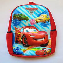 Рюкзак для хлопчиків 30 см Тачки 3D