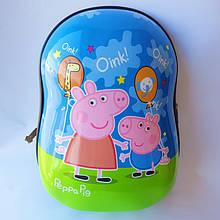 Рюкзак пластиковий дитячий Свинка Пеппа 32 см x 23 см