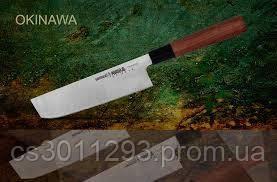 Нож кухонный овощной Накири 172 мм Samura Okinawa (SO-0174), фото 2