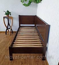 """Односпальная кровать из массива натурального дерева """"Шанталь Премиум"""" от производителя, фото 3"""