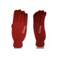 Перчатки oneLounge iGlove для сенсорных экранов iPhone, iPad, iPod Красные