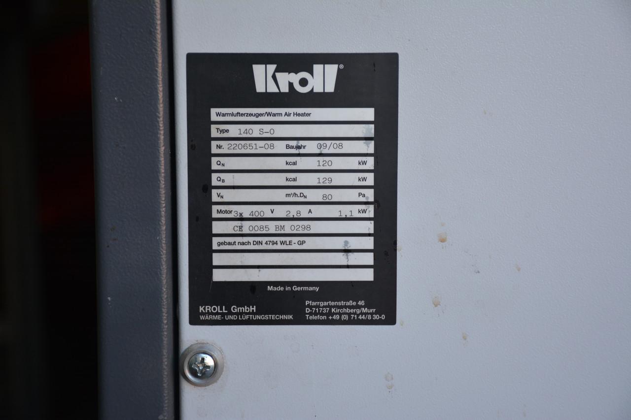 Стаціонарні теплогенератори 140 S