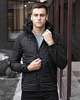 Мужская осенняя куртка Pobedov Soft Shell Combi, фото 1
