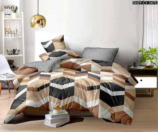 Постельное белье Шерше сатин ТМ Комфорт-Текстиль (Двуспальный), фото 2
