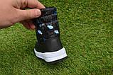 Детские дутики сапоги Аляска черные принт машины р 25 - 30, фото 6