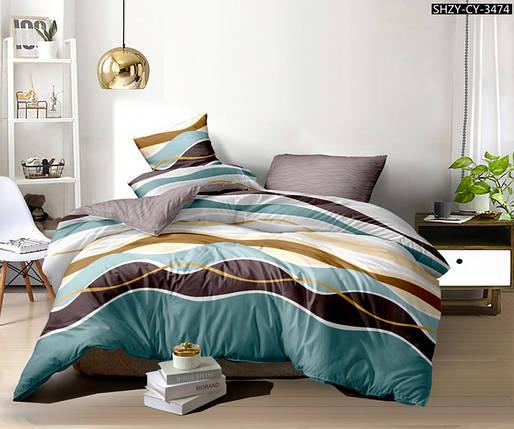 Постельное белье Тиара сатин ТМ Комфорт-Текстиль (Семейный), фото 2