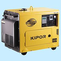 Генератор дизельный KIPOR KDE6700ТАО (4.5 кВт)