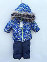 Зимний полукомбинезон и куртка Taxi для мальчика 80-120 р