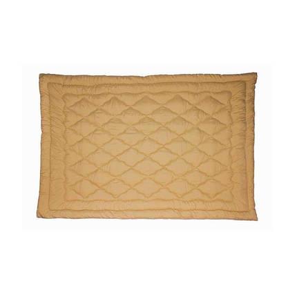 Одеяло шерстяное Руно Комфорт плюс бежевое демисезонное 172х205 двуспальное, фото 2