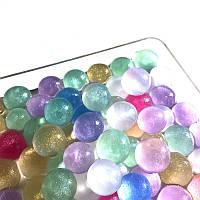 Гидрогелевые шарики Орбиз перламутровые, размер 16-18 мм, цвет микс, 100 грамм, растут в воде