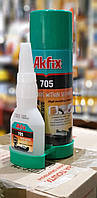 Akfix 705 – двухкомпонентный супер-клей с активатором 200 мл/50 гр., фото 1