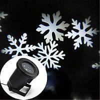 Лазерный проектор Star Shover WHITE Snowflake