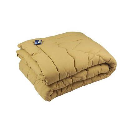 Одеяло шерстяное Руно Комфорт плюс бежевое демисезонное 155х210 полуторное, фото 2