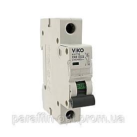 Автоматический выкл. VIKO 1P 20A 4.5кА 230/400В тип С