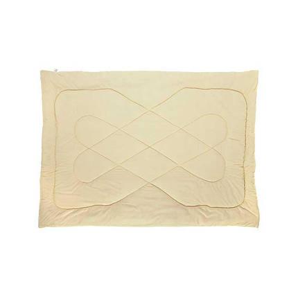 Одеяло шерстяное Руно Комфорт плюс молочное демисезонное 140х205 полуторное, фото 2