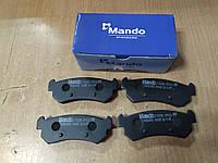 "Колодки тормозные задние CHEVROLET Lacetti (J200) 2005>, Nubira 2005; ""MANDO"" MPD22 - Корея"