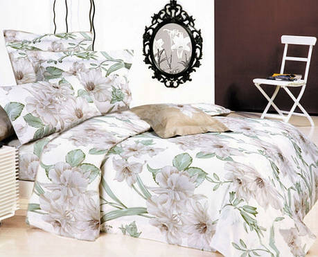 Постельное белье Басури фланель  ТМ Комфорт-текстиль евро, фото 2