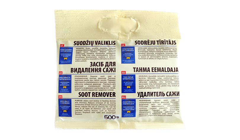 Очиститель дымохода (удалитель сажи) Hansa (500 г.)(пакет)