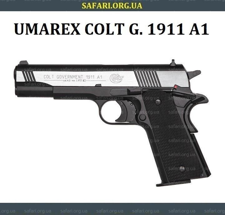 Пневматический пистолет Umarex Colt Goverment 1911 A1 Dark Ops