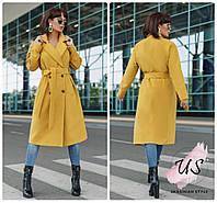Женское  демисезонное кашемировое пальто. 3 цвета!