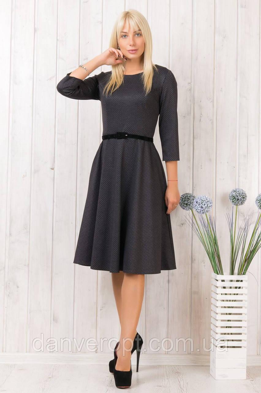 Платье женское модное стильное с ремешком размер 46-52 купить оптом со склада 7км Одесса