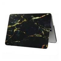 """Мраморный чехол oneLounge Marble Black/Yellow для MacBook 12"""""""