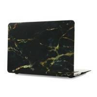"""Мраморный чехол oneLounge Marble Black/Yellow для MacBook Air 11"""""""