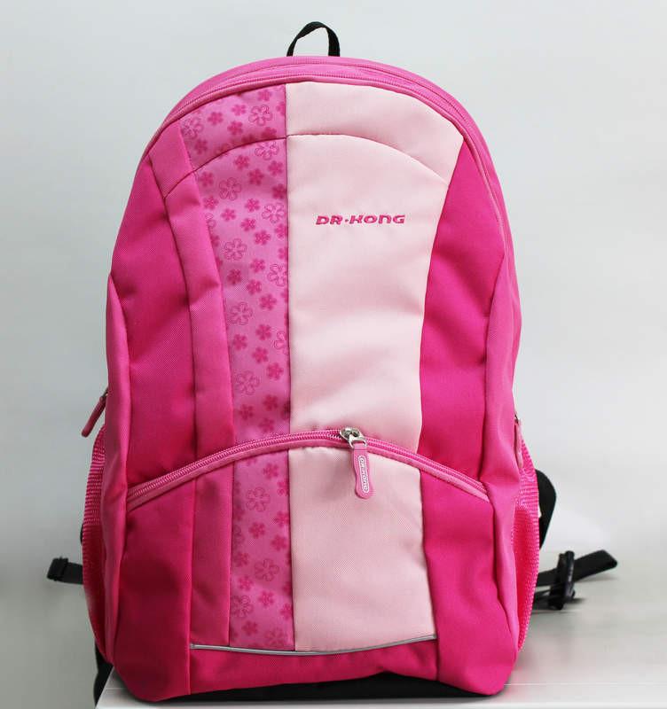 Рюкзак ортопедический Dr Kong Z 222, размер М  42*29*15, розовый