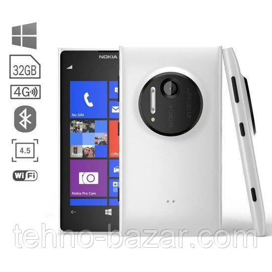 Смартфон Nokia Lumia 1020 2Gb\32Gb White 4,5 HD 41 mp  + подарки