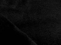 Футер трехнитка на флисе (черный) (арт. 05448) отрез 1,5 м