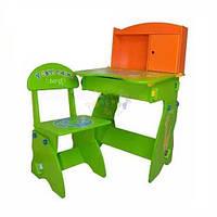 Регулируемая детская парта растишка со стульчиком Bambi W 075