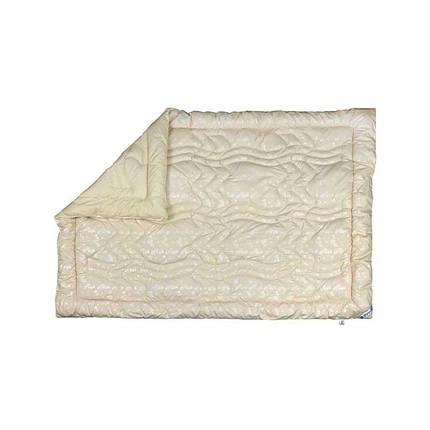 Одеяло шерстяное Руно Элит Вензель зимнее 155х210 полуторное, фото 2