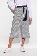 Модные женские брюки-кюлоты с лампасами, фото 1