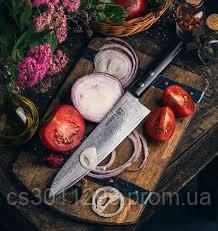 """Нож кухонный Шеф, 208 мм, Samura """"67 Damascus"""" (SD67-0085M), фото 2"""