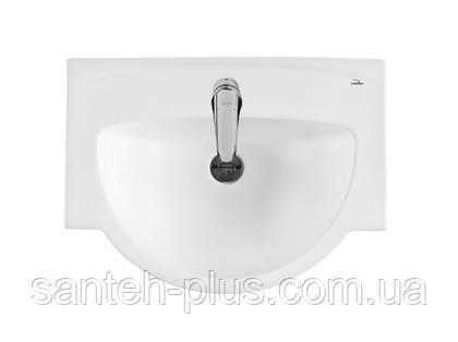 Тумба для ванной комнаты с выдвижными ящиками Кватро Т5 с умывальником Акцент-65, фото 2