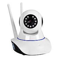 Беспроводная IP смарт камера Smart NET с панорамным обзором Wi Fi Q5, фото 1
