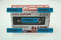 Магнитофон Celsior (USB/SD/FM) евро разъем (магнитола) (CSW-180W/R/G)