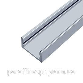 Профиль алюминиевый накладной неанодированный