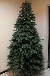 Искусственная елка литая ПРЕМИУМ зеленая 1,20 - 3,50 м.