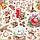 Хлопковая ткань Праздничные украшения беж, фото 5