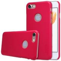 Пластиковый чехол Nillkin Frosted Shield Red для iPhone 7/8