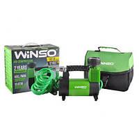 Компрессор автомобильный WINSO 10 Атм, 40 л/мин., 180 Вт, кабель 3м, шланг 5м (Winso 131000)