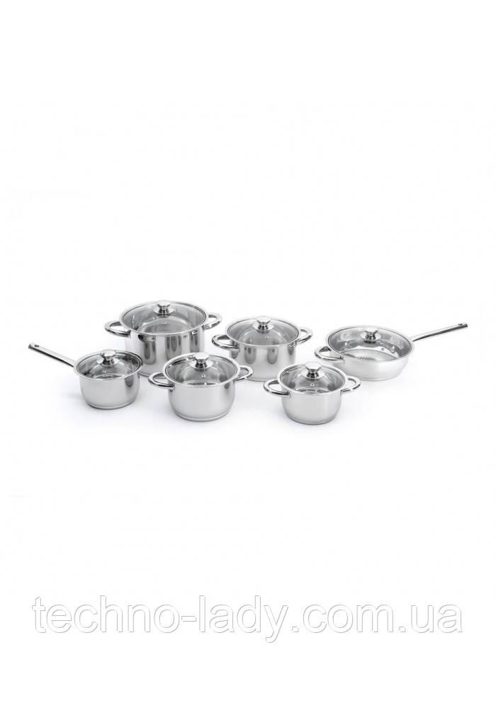 Набор посуды BergHOFF Vision Premium из 12 предметов (1112100)