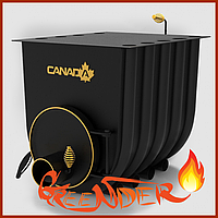 Булерьян «Canada» с варочной поверхностью «02» печь булерьян для дома