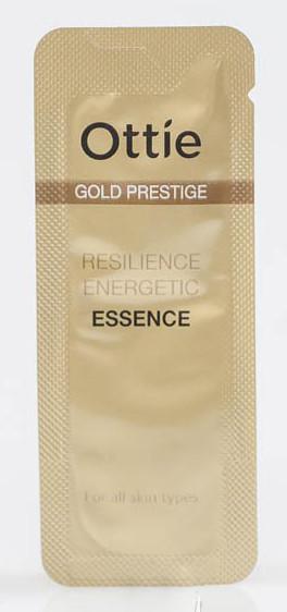 Емульсія для пружності шкіри обличчя Ottie Prestige Gold Resilience Gentle Moisturizer Пробник 1 мл