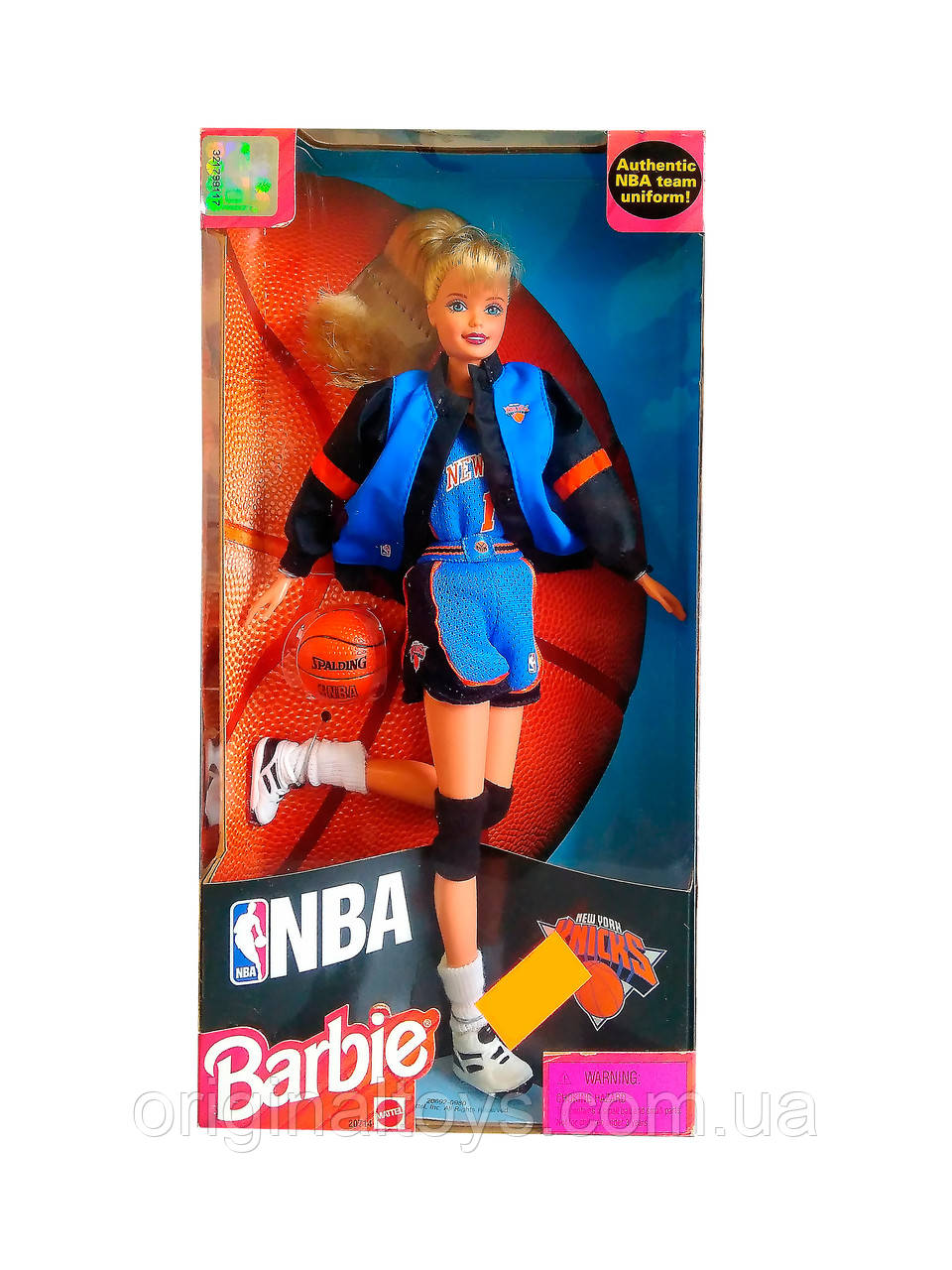 Коллекционная кукла Барби Barbie NBA New York Knicks 1998 Mattel 20714