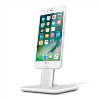 Док-станция Twelve South HiRise 2 Deluxe Silver для iPhone/iPad