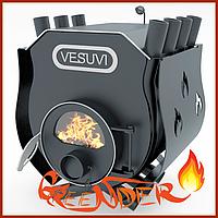 Печь булерьян от производителя «Vesuvi» с варочной поверхностью «00» + стекло и защитный кожух