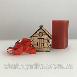 Брендована новорічна іграшка-будиночок