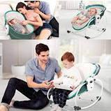 Переносная люлька-качалка Mastela 5 в 1 для новорожденных , Оригинал, фото 4